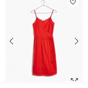Madewell wrap dress / cotton cover up